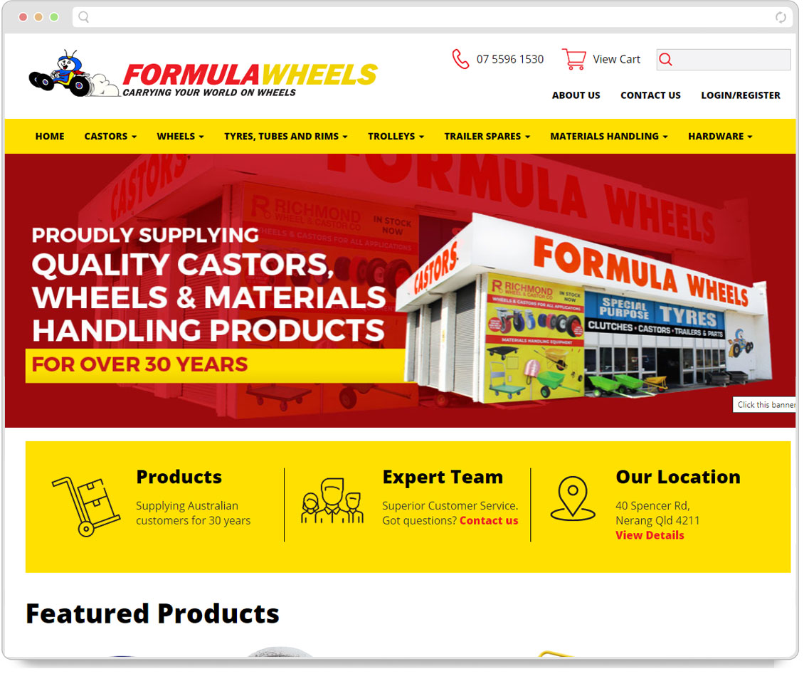 Formula Wheels Screenshot
