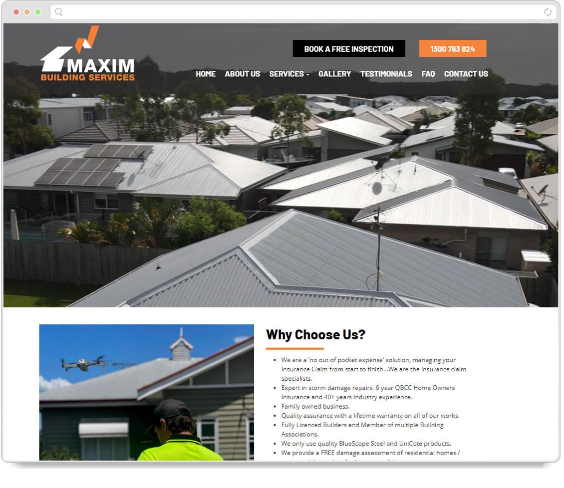 Maxim Building Screenshot