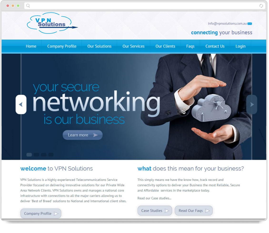 VPN Solutions Screenshot