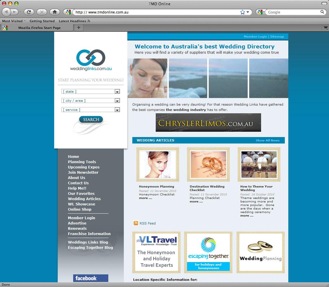 Wedding Links Screenshot