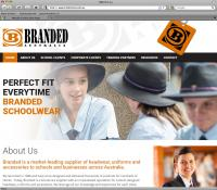 Thumbnail of Branded Australia website