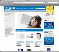 Thumbnail of Copyline website
