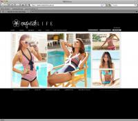 Thumbnail of  Exquisite Life website