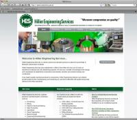 Thumbnail of  Hillier Engineering Services website