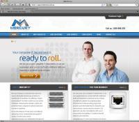 Thumbnail of  Mercury IT website