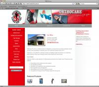 Thumbnail of Orthocare website
