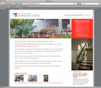 SEQ Frameless Glass Screenshot
