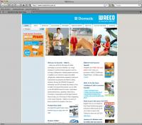Thumbnail of Dometic website