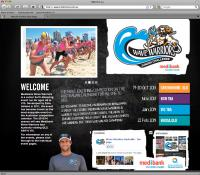 Thumbnail of Wave Warriors website
