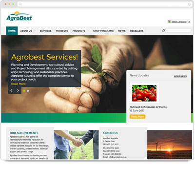 Website Thumbnail for Agrobest