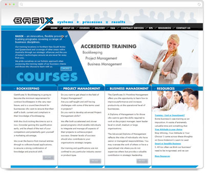 Website Thumbnail for Basix Training