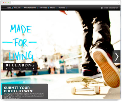 Website Thumbnail for Billabong