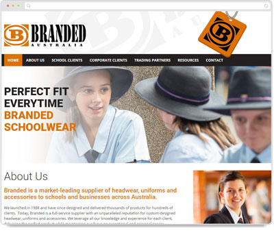 Website Thumbnail for Branded Australia