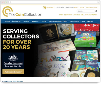 Website Thumbnail for Coin Collect