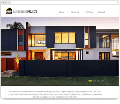 Website Thumbnail for David Rogers Projects
