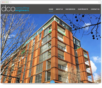 Website Thumbnail for DCO Consulting Engineers