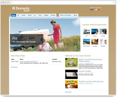 Website Thumbnail for Dometic Group (WAECO Pacific Pty Ltd)