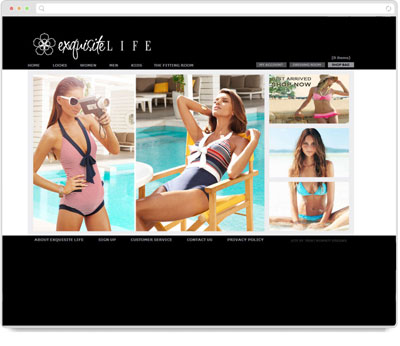 Website Thumbnail for  Exquisite Life