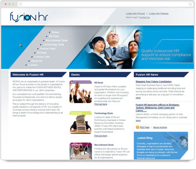 Website Thumbnail for  Fusion HR