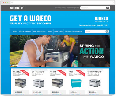 Website Thumbnail for Get A WAECO