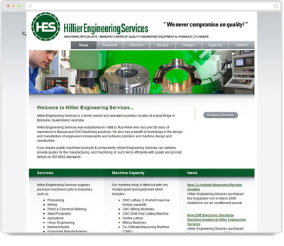 Website Thumbnail for  Hillier Engineering Services