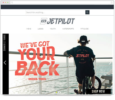 Website Thumbnail for Jetpilot Japan