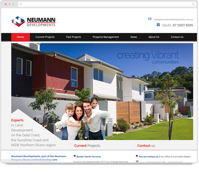 Website Thumbnail for Neumann Developments