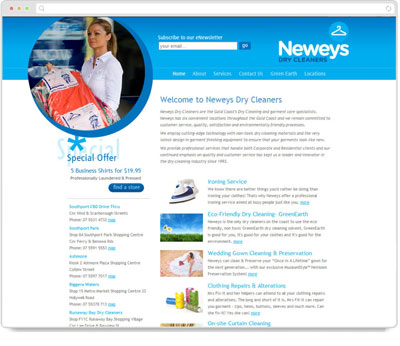 Website Thumbnail for Neweys