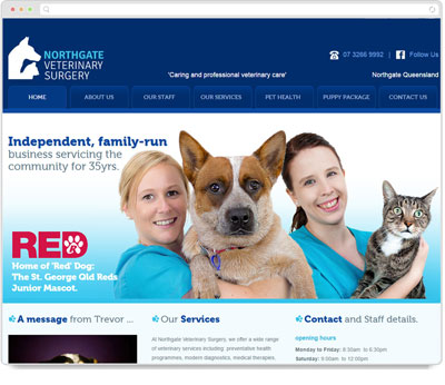 Website Thumbnail for Northgate Veterinary Surgery