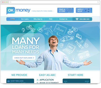 Website Thumbnail for Ok Money