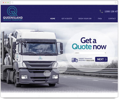 Website Thumbnail for Queensland Vehicle Transport