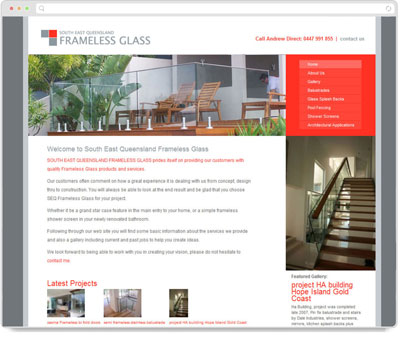 Website Thumbnail for SEQ Frameless Glass