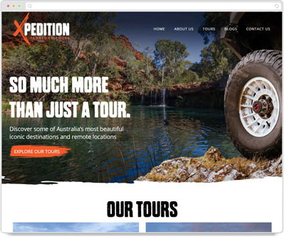 Website Thumbnail for Xpedition Tagalong Tours